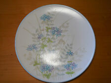 "Noritake Progression BEWITCH 9078 Set of 6 Dinner Plates 10 1/2"" Blue Purple"