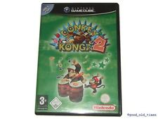 ## Donkey Konga 2 (Deutsch) Nintendo GameCube / GC Spiel - TOP ##
