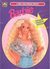 VINTAGE 1994 BARBIE COLORING BOOK BY GOLDEN