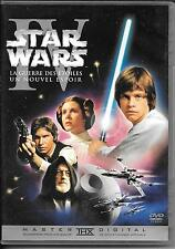 DVD ZONE 2--STAR WARS EPISODE IV - UN NOUVEL ESPOIR--LUCAS/FORD/HAMILL