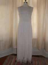 Lovely Vtg 1950s Dutchess IVORY Nylon SEE THRU NIGHTGOWN Sz 34 Intimate Lingerie