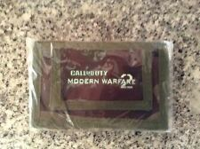 Call of Duty Modern Warfare 2 COD MW2 Velcro Wallet Logo Official Sealed Unique