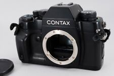 [Exc++++] Contax RX 35mm SLR Camera Black Body from JAPAN #e342