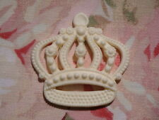 SHABBY ROYAL CROWN FURNITURE APPLIQUE ONLAY EMBELLISHMENT