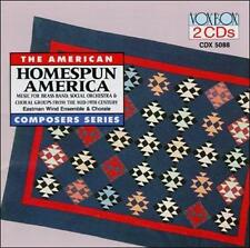 EASTMAN WIND EN-Homespun America CD NEW