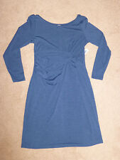 OLD NAVY MATERNITYWOMENS NWT LONGSLEEVE TWISTED RUCHED DRESS--M--SHIPS FREE