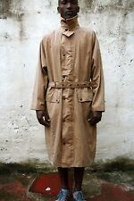 BELSTAFF WAXED COTTON BROWN EXTRA LONG JACKET COAT L OUTDOOR RARE Auth.
