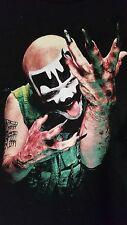 ICP RARE 1999  SHAGGY 2 DOPE PHOTO SHIRT INSANE CLOWN POSSE BLACK T SHIRT XL HIP
