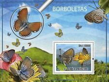 Worlds smallest Butterflies Sao Tome & Principe 2009 s/s Sc. 2131 MNH #ST9316b
