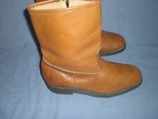 Vtg workers union boots with Armortred oil resisting sole 0685074 SIZE 10.5 E