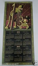SDCC Comic Con 2013 EXCLUSIVE Futurama Dual sided Door Calendar BENDER
