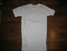 tshirt, us army white usa made,  100% cotton small,round neck