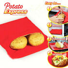 Microwave Baked Potato Cooking Bag Fast Quick Home Office (Can Cook 4 Potatos)
