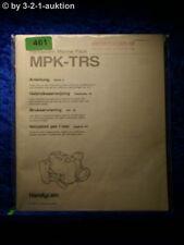 Sony Bedienungsanleitung MPK TRS Handycam Marine Pack (#0461)