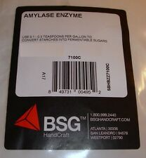 AMYLASE ENZYME 4oz NEW MOONSHINE METHOD FOR STARCHY CORN POTATO MASH WASH STILL