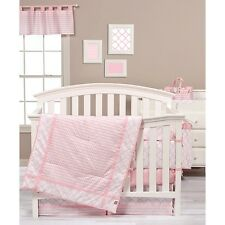 Trend Lab 100796 Pink Sky 3 Piece Crib Bedding Set NEW