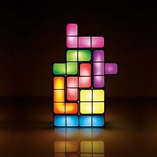 Colorful Tetris Light Cube Shapes Novelty Multicolor Table Lamp Tetrimino Light