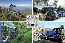 SOUVENIR FRIDGE MAGNET of THE DARJEELING HIMALAYAN TOY TRAIN INDIA