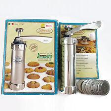Marcato Biscuit Cookie Press Biscuit Maker, 20 Discs, Italy