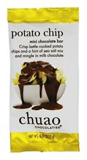 Chuao - Gourmet Milk Chocolate Mini Bar Potato Chip - 0.39 oz.