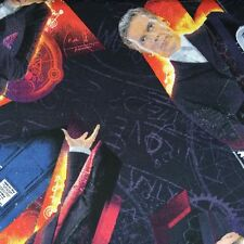 Doctor Who Fabric- I Am The Doctor Licensed Cotton Fabric 112cm Wide *Half Metre