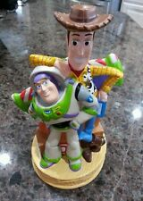 Disney Store Pixar Vintage Toy Story Buzz & Woody Coin Piggy Bank