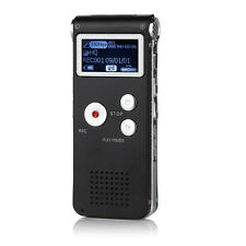 8GB Digital Audio Voice Recorder 650HR Dictaphone MP3 FM Player Multifunctional