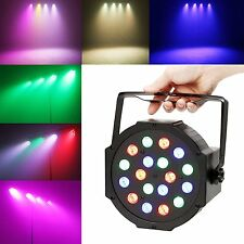 Foco LED Discoteca RGB de Colores DJ Party Fiesta Luces Disco Laser Efecto