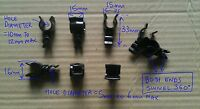 EX8QQQ LAND ROVER DEFENDER WOLF & MINI PART SYC10020 SWIVEL CLIP ACCELERATOR x4