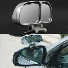 2Pcs Silver Blind Spot Mirrors Vehicle Car Towing Wide Angle Mirrors New