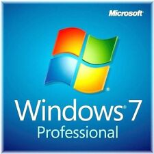 Microsoft Windows 7 Professional 64 Bit SP1 Full [DVD+ Key Code + COA] [SEALED]