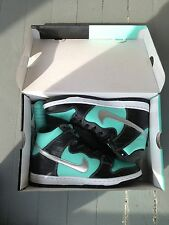 NIKE SB DUNK HIGH DIAMOND SUPPLY CO (SIZE 10) TIFFANY AQUA CHROME BLK 653599 400
