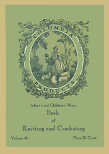 Columbia #46 c.1933 Excellent Knitting & Crochet Patterns for Infants & Children