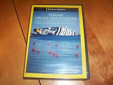 ITALIAN CRUISE SHIP DISASTER THE UNTOLD STORIES National Geographic DVD NEW