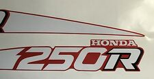 88 TRX250R reproduction decals 1988 TRX 250R Stickers Fourtrax