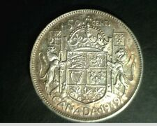 1949 Canada, 50 Cents, High Grade Silver, .3000 oz (Can-683)