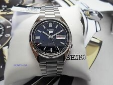 SEIKO  5  SNXS77 BLUE Dial Stainless Steel  SEIKO Automatic  SNXS77-NEW