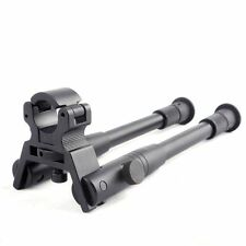 "8"" to 10"" Steel Stand Low Profil Airgun Rifle Bipod Adjustable Swivel Stud Mount"