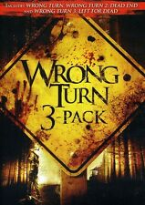 Wrong Turn [3 Discs] (2011, REGION 1 DVD New) WS