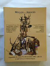 CATALOGUE MILLON ASSOCIES 2002 LIVRES LITHO GRAVURES BRONZES MILITATRIA ART
