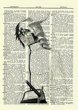 Ulquiorra Bleach Anime Dictionary Art Print Poster Picture Japanese Manga 4