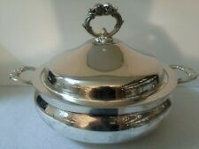 English Silver by Leonard Casserole Bowl with Lid