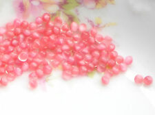 #1034 Vintage Moonstone Cabochons 3mm Round Mini Small NOS Cottage Chic Pink
