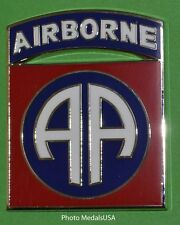 "82nd AIRBORNE DIVISION CSIB Combat Service ID Badge Army "" All American Div."""