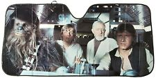 New, Plasticolor 003700R01 Star Wars Accordion Sunshade, For Car, Free Shipping
