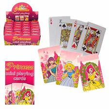 10 packs Mini Princess playing cards, for Birthday Party loot bags