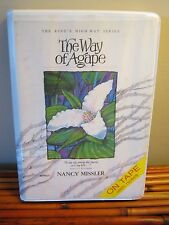 The Way of Agape By Nancy Missler - Audio Book - 8 Cassettes Tapes