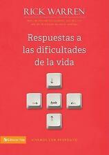 Respuestas a las dificultades de la vida (Vivamos Con Proposito  Living With Pur