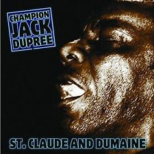 NEW - St Claude & Dumaine by Dupree, Champion Jack