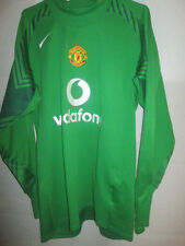 Manchester United Van Der Sar 2004-2005 Goalkeeper Football Shirt Medium /34064